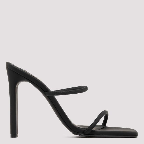 Graphite minimal sandals