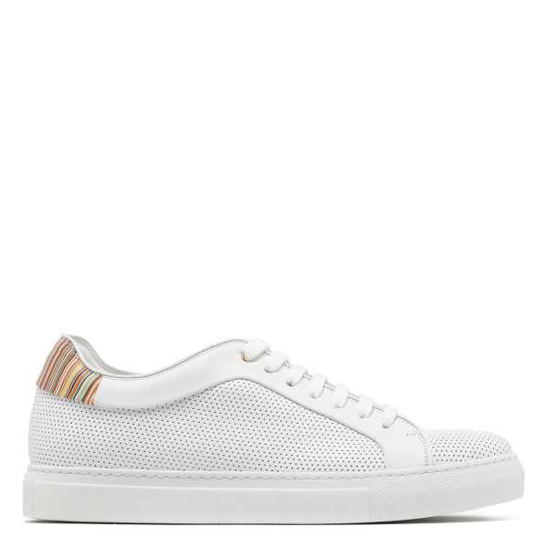 White leather Basso sneakers