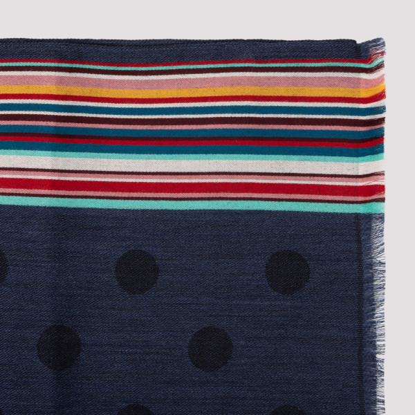 Paul Smith Wool and viscose blend Scarf