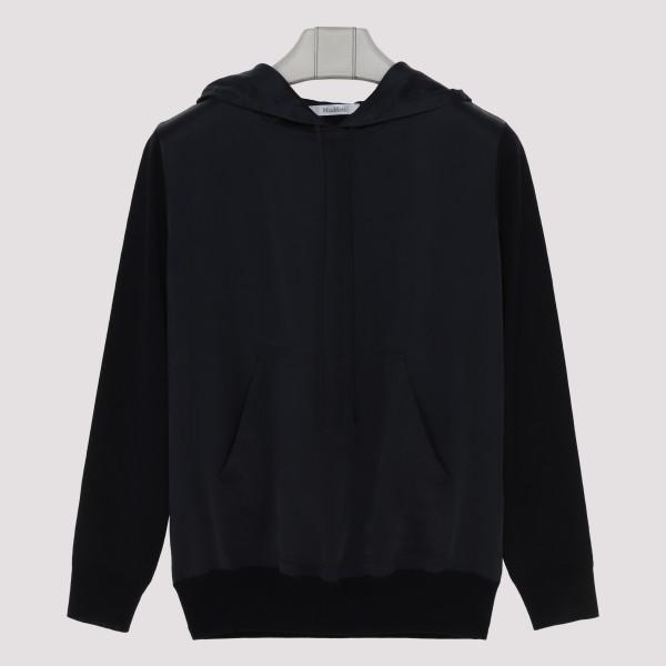 Arca wool and silk hoodie