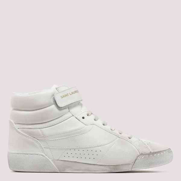 Lenny white leather sneakers