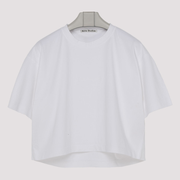 Cylea off-white cotton T-shirt