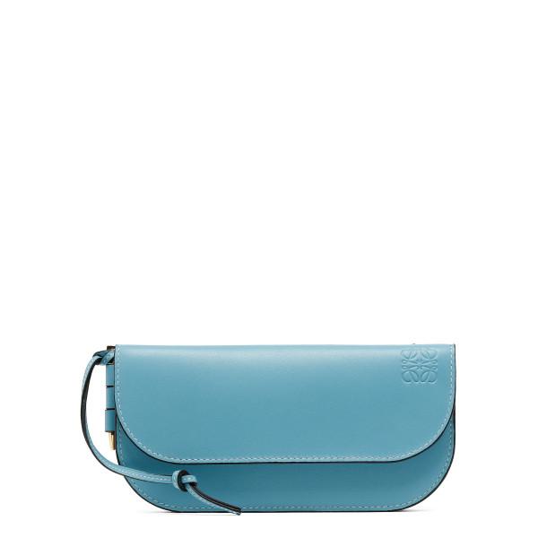 Light blue Gate continental wallet
