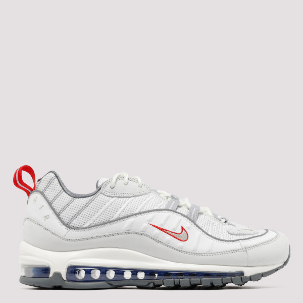 Air Max 98 white and silver...