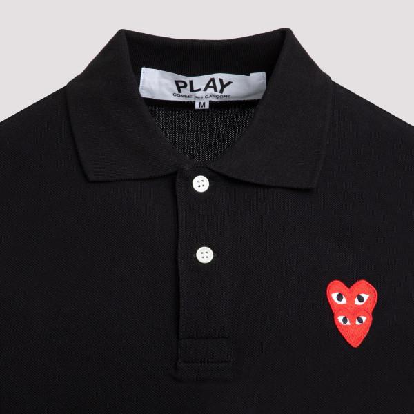 Comme Des Garçons Play polo t-shirt
