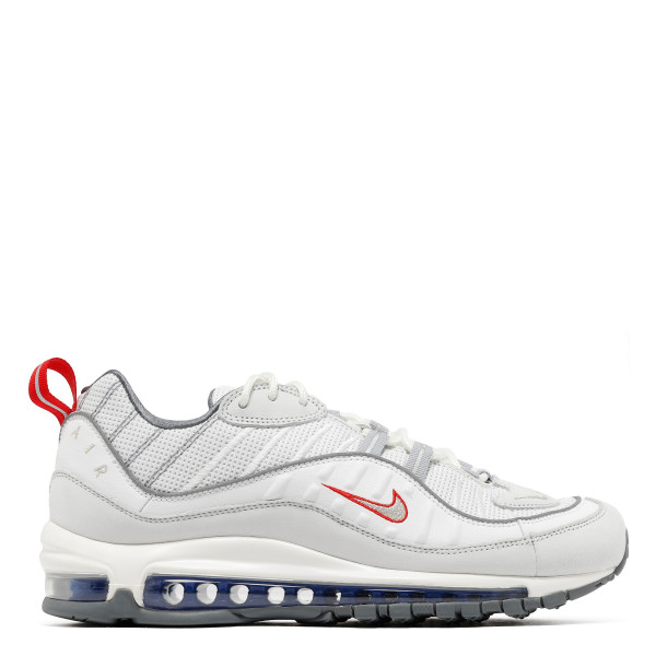 Air Max 98 white and silver sneakers