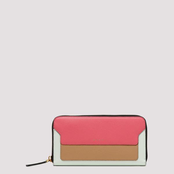 Rectangular zip around wallet