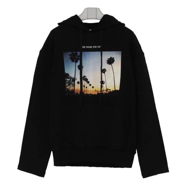 Sunset print hoodie