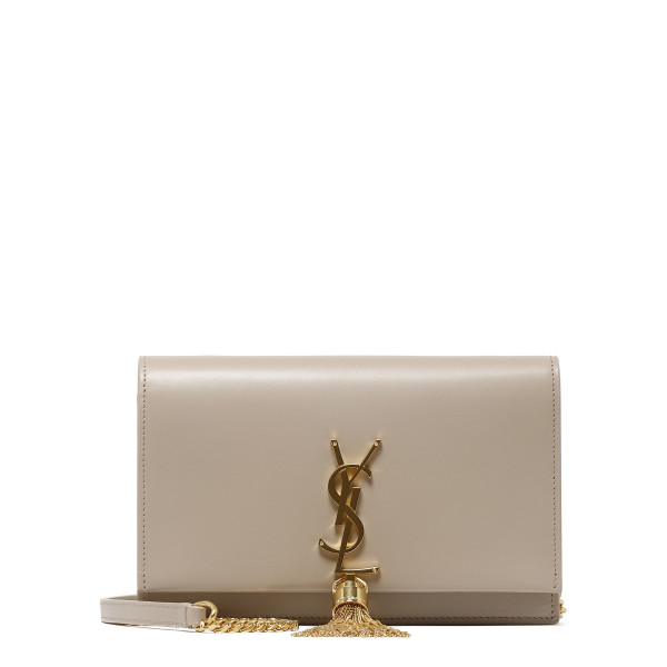 Light natural leather Kate wallet-on-chain