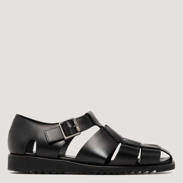 Black Gurkha sandals