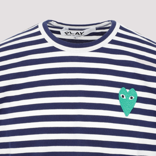 Comme Des Garçons Play Striped T-Shirt