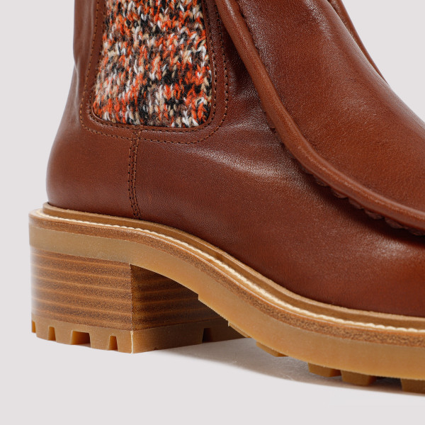 Chloé Jamie Knitted Ankle Boots