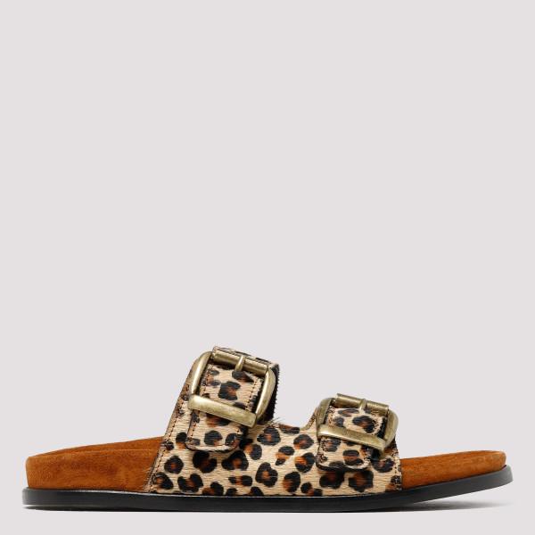 Vail fussbett leopard slide...