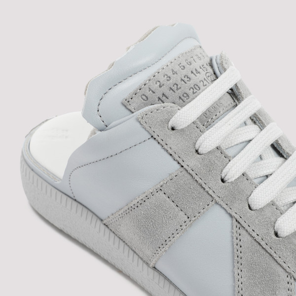 Maison Margiela Leather and Suede Sneakers