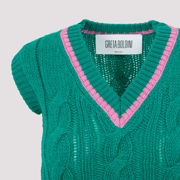 Greta Boldini Wool Vest