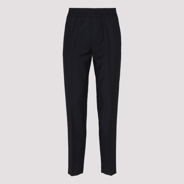 Ryder navy wool and mohair pants