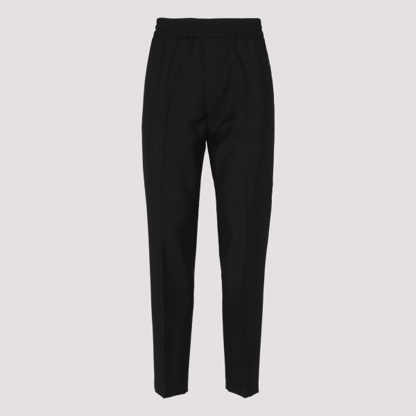 Ryder black wool and mohair pants
