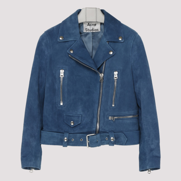 Mape blue suede jacket