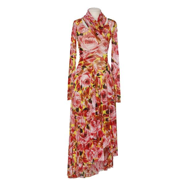Roses print dress