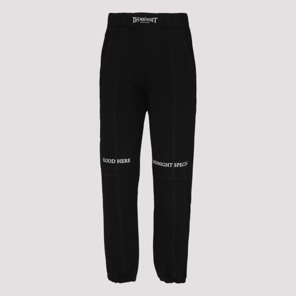 Boxing sweat pants in black