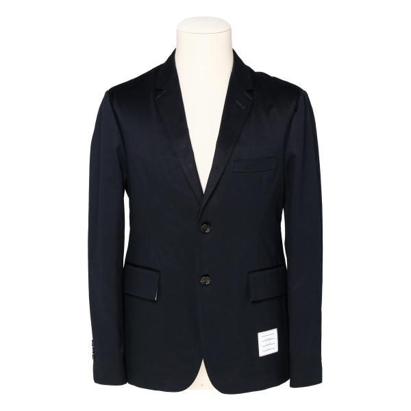 Blue Unconstructed Cotton Sport jacket