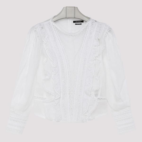 White Rosen top