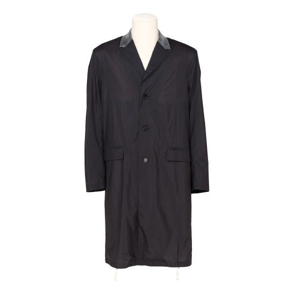 Black Sagan shell coat