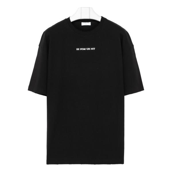 Black cotton David Bowie printed T-shirt