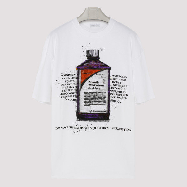White T-shirt with Codeine...