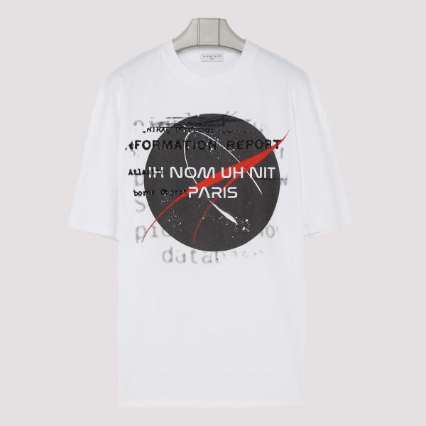 White T-shirt with Nasa...