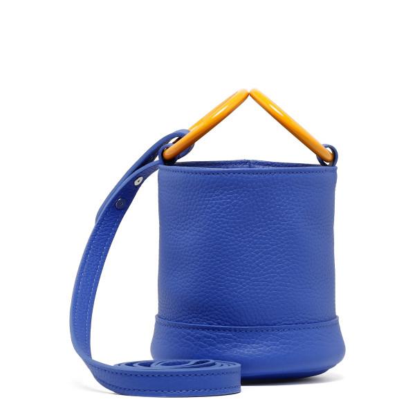 Electric blue Bonsai small bucket bag