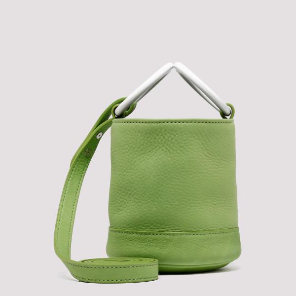 Green Bonsai small bucket bag