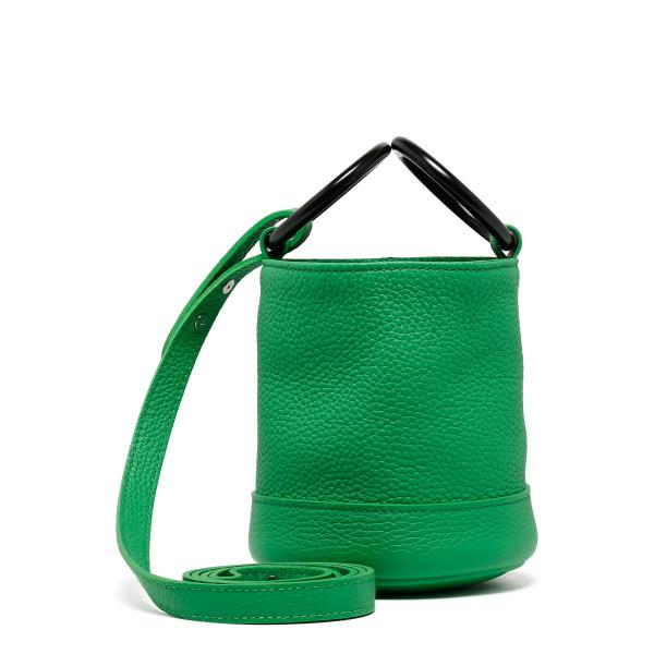 Neon green Bonsai small bucket bag