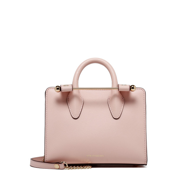 Dusty pink nano tote bag