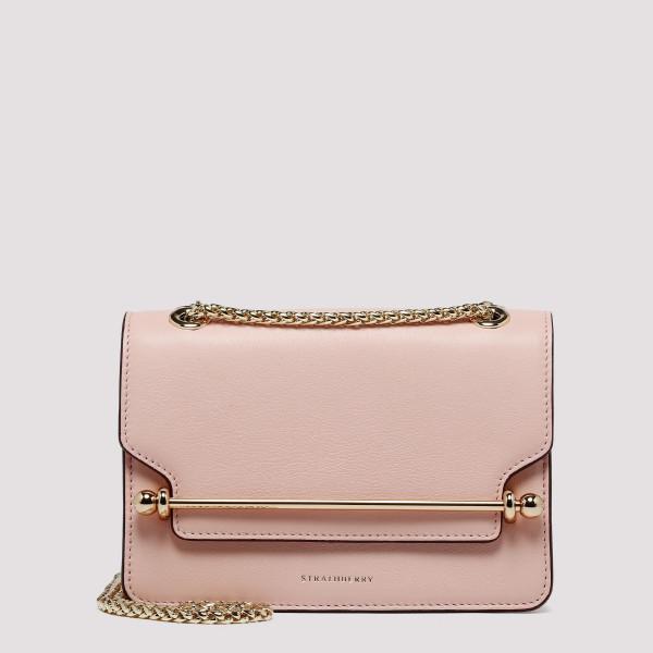 East/West soft pink mini...