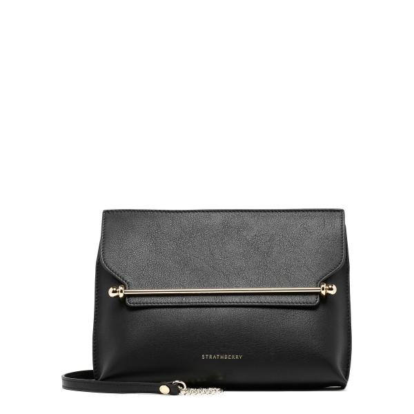 East/West stylist black shoulder bag