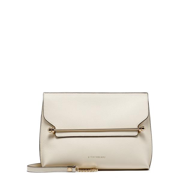 East/West Stylist vanilla shoulder bag