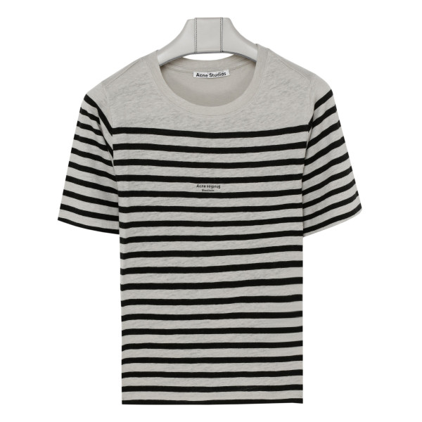 Megalin striped linen T-shirt