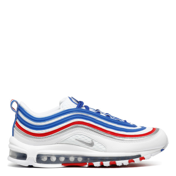 Air Max 97 white and blue royal sneakers