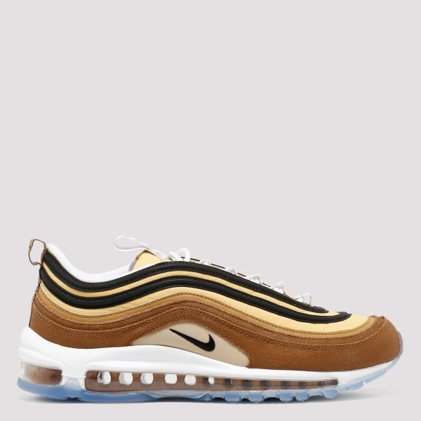 Air Max 97 brown and gold...