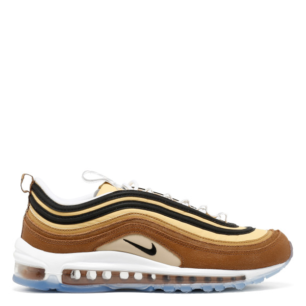 Air Max 97 brown and gold sneakers