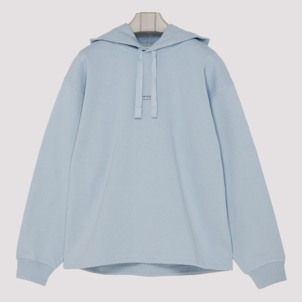 Light blue hooded sweatshirt