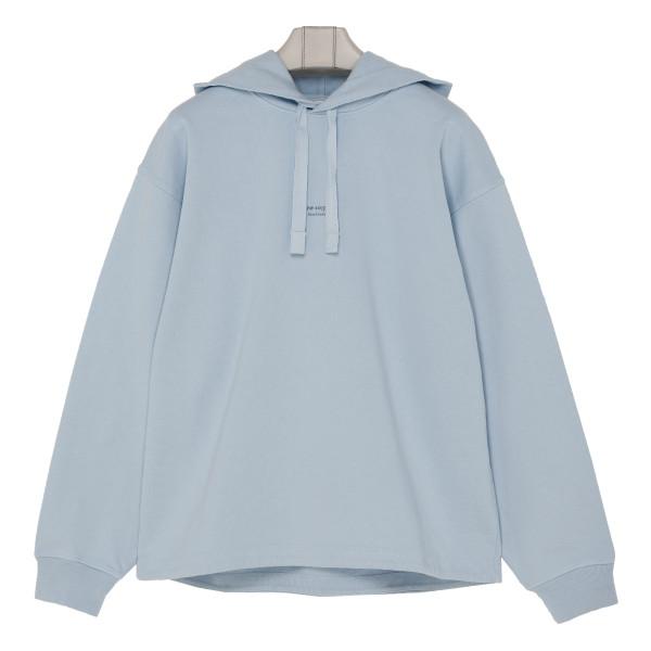 Light blue hooded sweatshirt