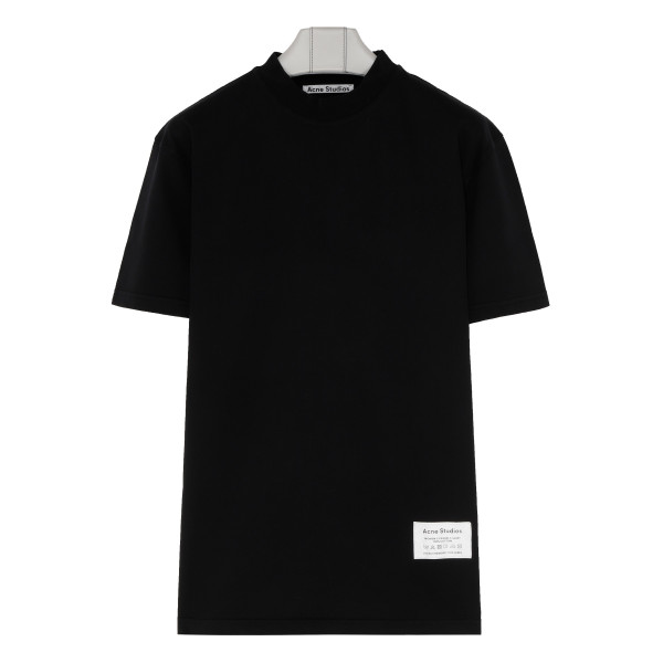 Black Mock neck t-shirt