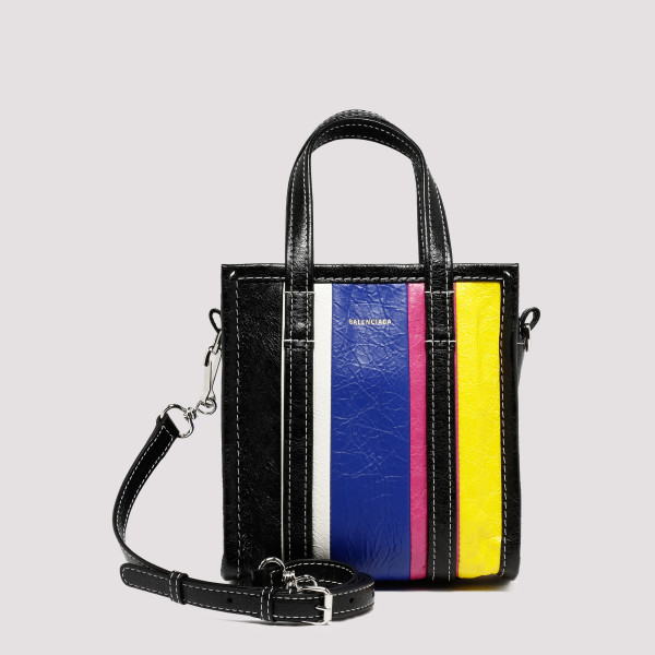 Bazar XXS striped shopper bag