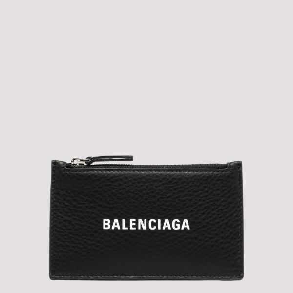 Black leather card holder...