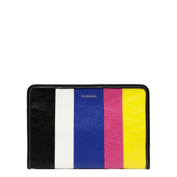 Bazar striped mini pouch