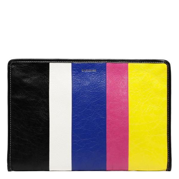 Bazar striped pouch