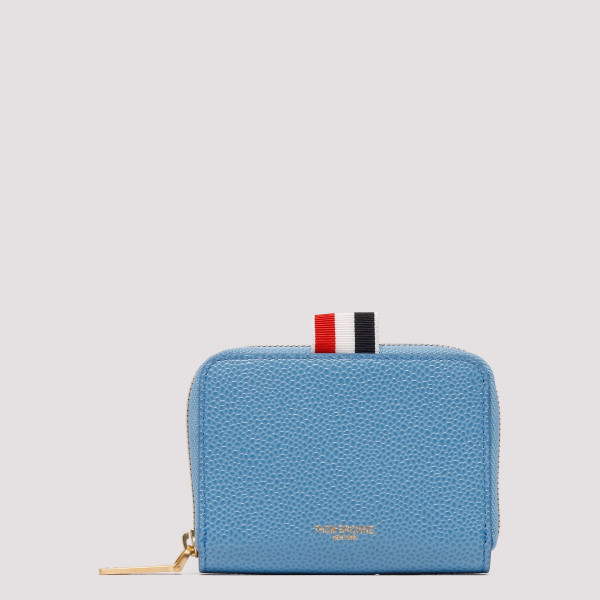 Light blue Slim Short Wallet