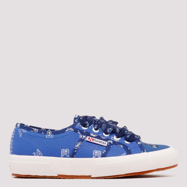Superga blue bandana sneakers